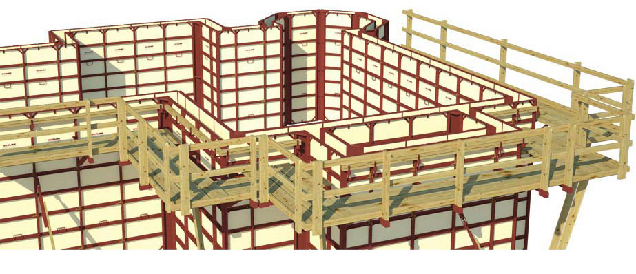 Waler Brackets Ties Concrete Forming Systems
